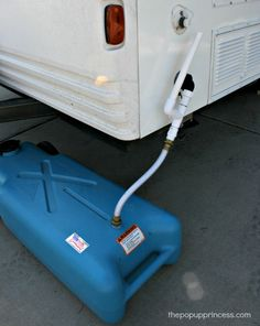 Grey Water System for Pod when camping without hookups