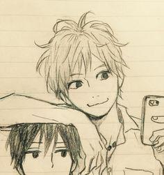 Kakeru & Suwa -- Orange. Love them