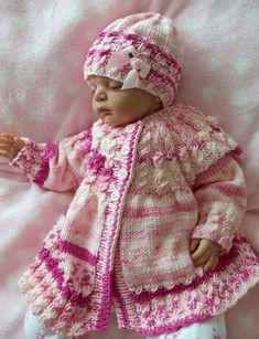 Knitted baby dress, vest, cardigan, sweater, overalls patterns (736) - Knitting, Crochet Love Baby Boy Knitting Patterns Free, Baby Sweater Patterns, Baby Patterns, Knit Baby Dress, Silicone Reborn Babies, Baby Sweaters, Baby Wearing, Knitted Baby, Dress Vest