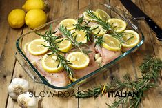 Rosemary Lemon Roasted Chicken Breasts are the best roasted chicken recipe ever! Lemon Roasted Chicken, Lemon Rosemary Chicken, Roasted Chicken Breast, Baked Chicken, Chicken Recipes, Chicken Ideas, Roast Chicken Breast Recipes, Boneless Chicken, Shrimp Recipes