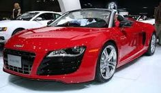 audi convertible r8 - one day....