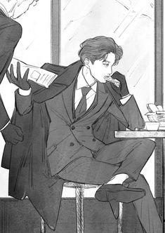 Exo Anime, Anime Guys, Exo Fan Art, Kim Jong In, Exo Kai, Kpop Fanart, Manga Comics, Comic Books Art, Chibi