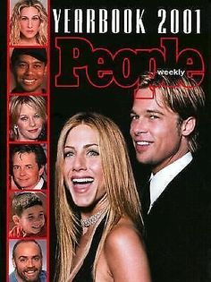 People Yearbook 2001 NEW BIG HARDCOVER FIRST EDITION