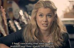 """""""men are the problem"""" Caggie: Made in Chelsea. LOVE this show! Sass Quotes, Boys Are Stupid, Made In Chelsea, Tv Show Quotes, Film Books, Great Films, The Funny, Make Me Smile, The Dreamers"""