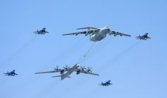 Victory Day parade in Moscow, Russia in 2009 - Ilyushin Il-78 - Wikipedia, the free encyclopedia