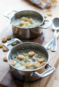 New England Clam Chowder via David Lebovitz