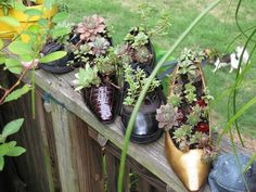 15 Ways To Use Old Shoes and Boots As Planters - Always in Trend   Always in Trend