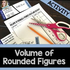 Volume of Rounded Figures Puzzle.About this resource : This volume matching activity can be used in a variety of ways. Students need to match up 15 volume of rounded figure questions with the solution. Great for a station activity, partner work or an informal assessment.