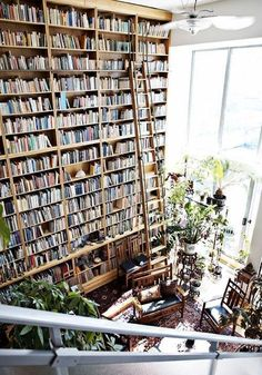 { one can never have too many books }