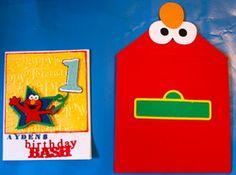 Elmo Envelope--too cute
