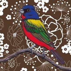 """Painted Bunting"" by Kristin Freeman, Austin TX"