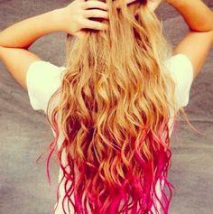 Dip die my hair