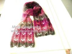 crochet scarf patterns | FANCY CROCHET SCARF | Crochet For Beginners by Sharon Bukowski