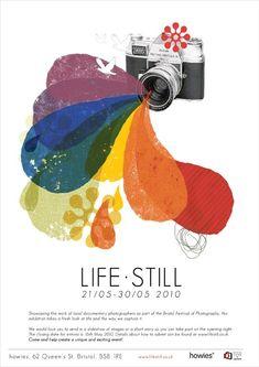 life still /  exhibition poster / 2010