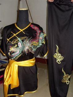 Aliexpress.com : Buy Size customized SEIKO embroidered phoenix silk clothes, martial arts performances suits, tai chi clothing,free shipping from Reliable black taiji clothing suppliers on Ancient China Wushu $73.90