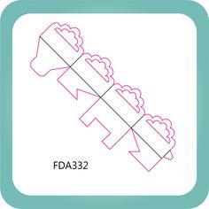 Faca Corte e Vinco FDA332 - Caixeta Prática 1