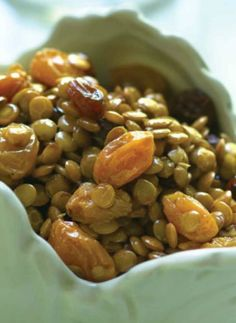 This Lentil Salad recipe is a great side dish for Roasted Turkey or Roasted Cornish Hens.
