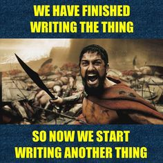 HERE WE GO! Although I will drop my daily quota to 750 words a day for a while because I really really REALLY need to get FORGOTTEN STARS III ready for publication. I have fallen behind on several goals and projects and I now have a backlog of FOUR manuscripts that have complete drafts which will need editing/revision/publication! Exciting shit y'all! #amwriting