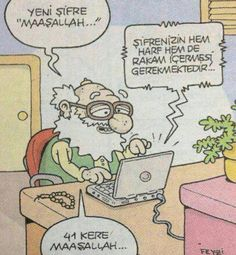 Karikatür 41 kere maşallah :)