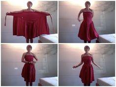 interesting bustier wrap dress