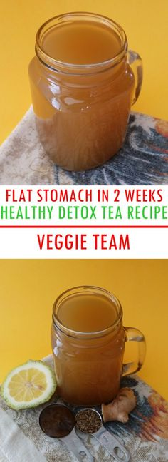 Get A Flat Stomach in 2 Weeks With This Healthy Detox Tea Recipe. Eating healthy and doing exercise is a great way to lose weight and get a flat stomach, but did you know that you could actually lose weight and get a flat stomach by drinking certain tea...?