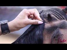 Vixen 3 Part Sew-In/Flip Method Tutorial by @MadAboutMeechie - YouTube