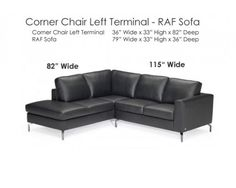 Quot Denver Quot White Leather Sectional With Chaise By Natuzzi