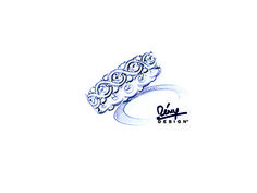 Remy Rotenier For Bella Luce (R) 3.02ctw Round Rhodium Plated Sterling Silver Ring