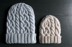 Ravelry: Traveling Cable Hat pattern by Purl Soho