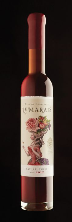 Le Marais Natural Sweet Wine by Manifesto Design.