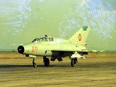MiG-21 UM  - Romanian Air Force. Copyright Alex Trandafir.