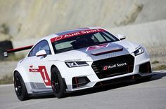 With a dedicated racing series for the Audi TT* the brand with the four rings will be offering a new opportunity to enter the company's successful motorsport world. The Audi Sport TT Cup will be held as part of the DTM starting in the 2015 season. Mercedes Maybach, Audi Tt S, Audi Suv, Audi Sport, Bmw M235i, Ferrari, Audi Motorsport, Auto News, Performance Cars