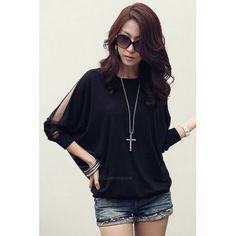 Long Sleeve T-shirts   Cheap Sexy Long Sleeve T-shirts For Women Casual Style Online Sale   DressLily.com Page 2