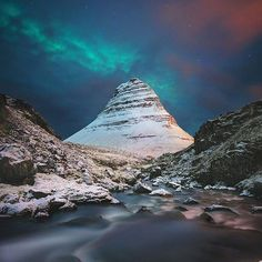 Hotels-live.com/cartes-virtuelles #MGWV #F4F #RT Kirkjufell Iceland | Photography by  Cameron Sandercock (@a_mugs_game) #EarthOfficial by earthofficial https://www.instagram.com/p/_6b1iRt0Yk/
