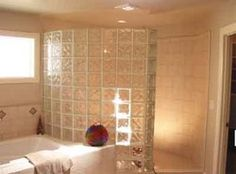 Glass Block showers, shower kits, design and installation service, walkin glass block shower, New Jersey, New York, Boston, Philadelphia
