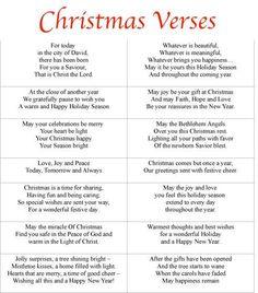 Free Printable Christmas Card Sayings