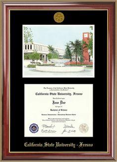 diploma frame double lith