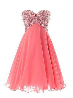 Ericdress Shinning Sweetheart Beaded Lace-Up Short Homecoming Dress