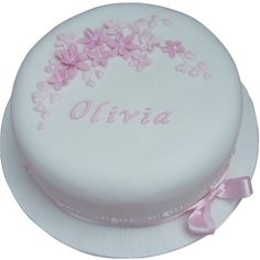 Free UK delivery on all cakes with each cake handmade to order. Book your Christening Cake easily online or call us on 01753 374 726