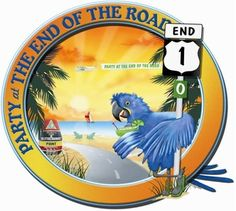 Party @ the end of the road!! Mile Marker 0.. Key West Florida!  yeah baby!  Meet you all on Duval!