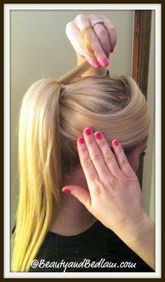 Pony tail styles  - 30 Days, 30 Ways Hair Style Challenge