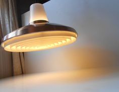 1960s Danish modern Copper pendant Lamp Jo Hammerborg Lisa Johansson-Pape era #NordiskSolarCompagni: http://www.ebay.com/itm/-/252548356285?