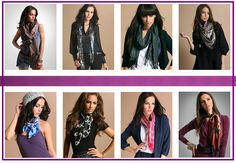 Fashion, Lifestyle and Beauty: SCARVES - fashion item to pep you up INSTANTLY!!!