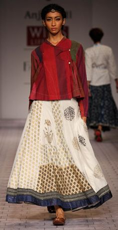 Anju Modi casual wear- Indian South Asian desi fashion http://www.pinterest.com/wywoodandwovens/international-fashion/