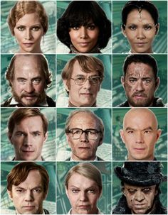 """Cloud Atlas"" has the most transformations to date as most of the cast transformed into different characters from different eras for the film."