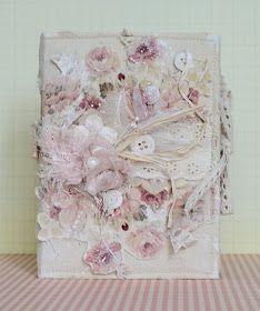 Здравствуйте!  ----  Показываю блокнот в стиле шебби-шик (он подобен вот этому экземпляру ). Размер 10,5*14,5 см, мягкая текстильная обложк...