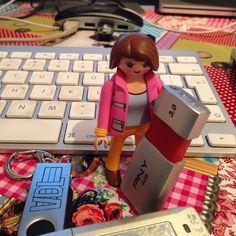Today it's time for me as a Teacher to look after Some work of students #playmobil #nakijken #werk