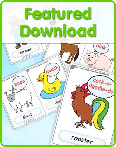 Free Flashcards for lots of different rhymes