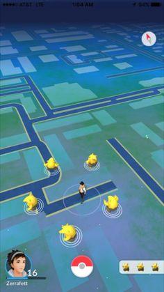 Les captures d'écran les plus improbables prises sur Pokémon GO