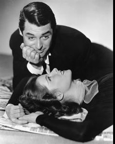 "Cary Grant & Katharine Hepburn ""Holiday"" 1938 Columbia- I love both of these people!"